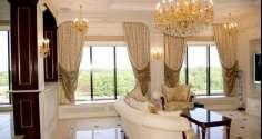 Классические шторы в интерьере разных комнат