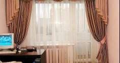 Выбираем шторы с ламбрекеном в спальню: фото с идеями дизайна
