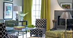 Восхитительные зеленые шторы