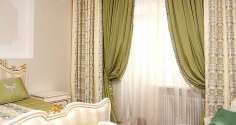 Идеи красивого оформления шторами спальни, кухни, зала