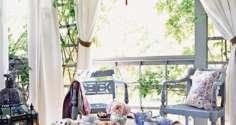Нюансы оформления шторами веранды: подборка фотоидей