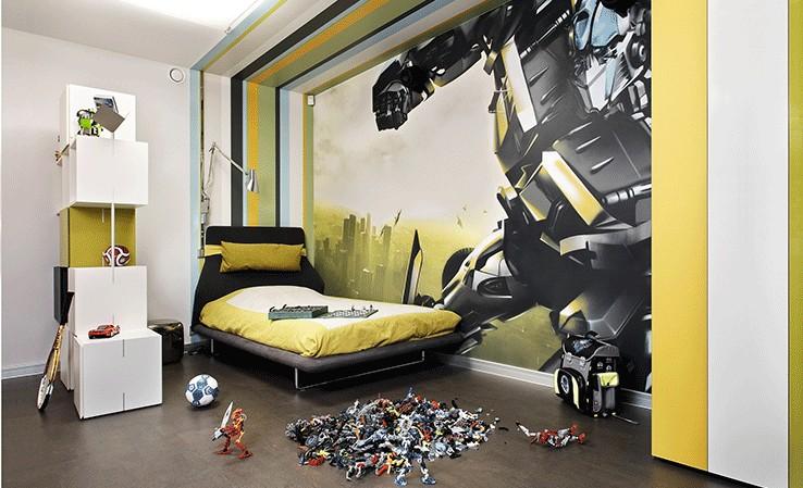 Оформление комнаты мальчика