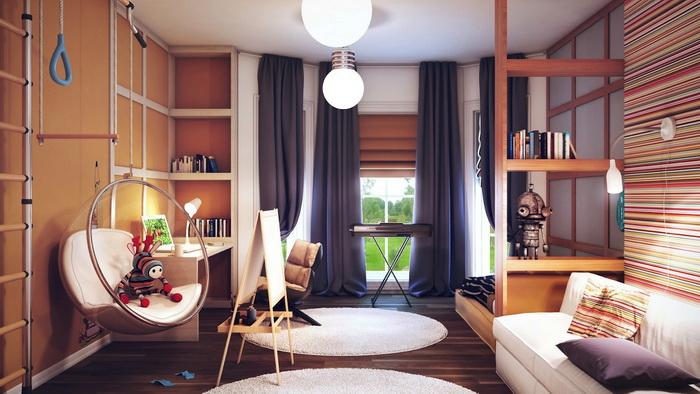 Интересные идеи оформления комнаты мальчика