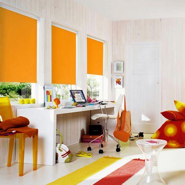 Рулонные шторы в детской комнате