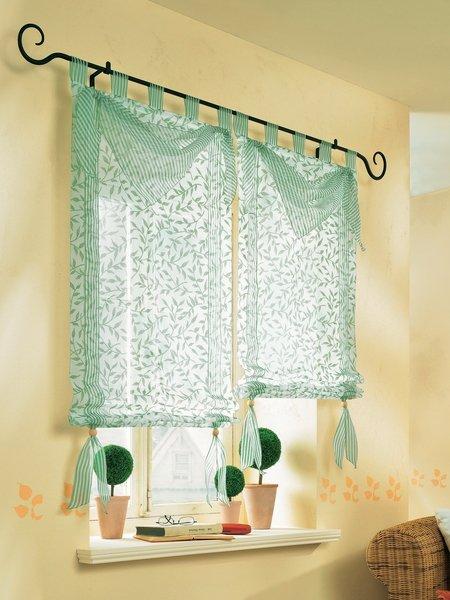 Сшить занавески на маленькие окна