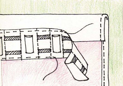 Как правильно пришить шторную ленту