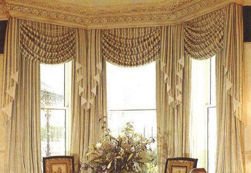 Шторы для интерьера в классическом стиле