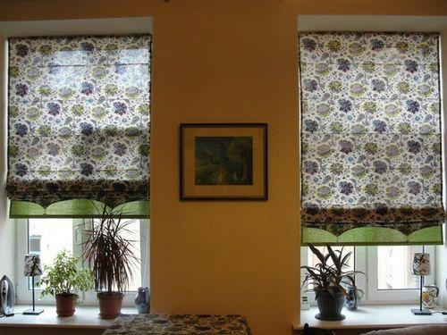 Римские шторы просто своими руками фото 79