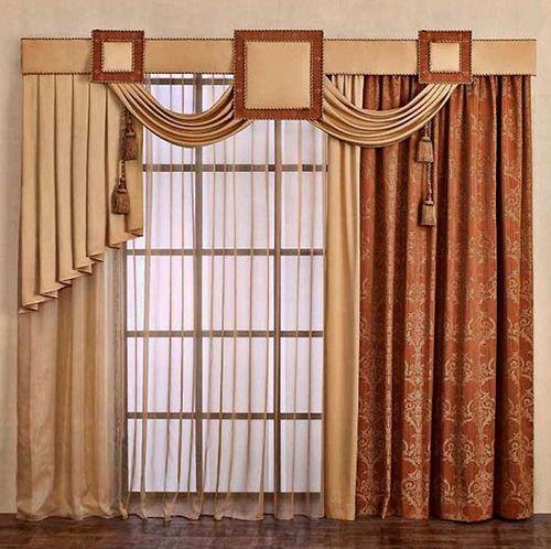 Красивые шторы с ламбрекенами