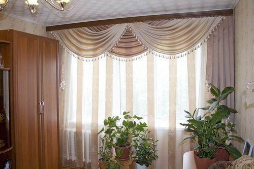 дизайн штор с ламбрекенами фото