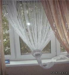 декоративные шторы в интерьере фото
