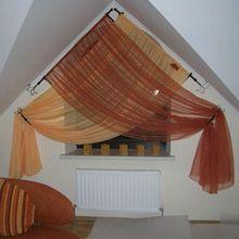 Нестандартные шторы для треугольных окон - рис.2
