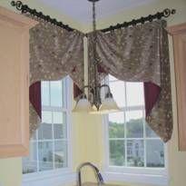 шторы на нестандартные окна фото