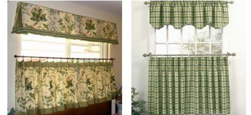сшить шторы на кухню в стиле прованс