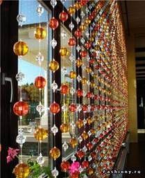 декоративные шторы в интерьере