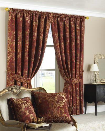Жаккардовые ткани для штор