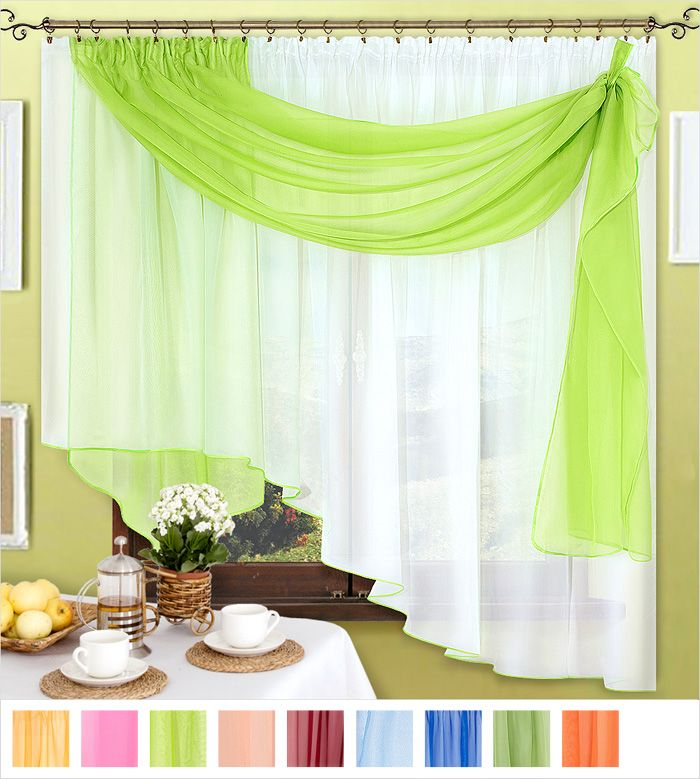 Пошив штор своими руками фото на кухне